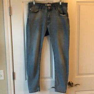 Zara vintage light wash skinny jean sz. 34